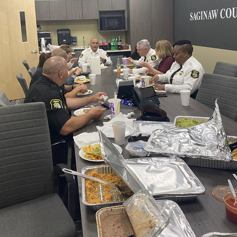 Police Department Meals 2020