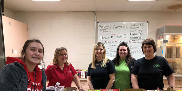 Sandusky High School Girls basketball concessions